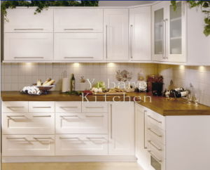 Modern Furniture Solid Wood Kitchen Cabinet #2012-105 pictures & photos