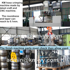 New Design Side Open Hose Crimping Machine (KM-83L) pictures & photos