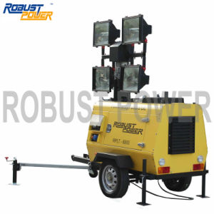 Kubota Outdoor Portable Hydraulic Movable Lighting Tower pictures & photos