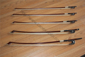 Violin Bow/ Brazil Wood Violin Bow (P-22V) pictures & photos