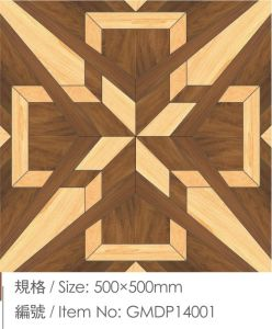 Solid Parquet Hardwood Luxurous Wood Flooring pictures & photos