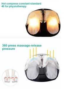 Zhengqi New 3D Air Pressure Electric Foot Massager with Heating Function pictures & photos