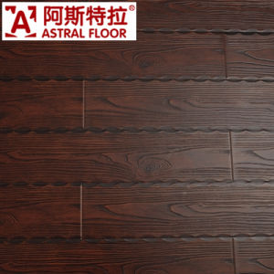 Best Seller Lock System Embossed 12mmlaminate Flooring pictures & photos