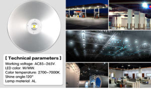 100W Epistar Industrial LED High Bay Light for Workshop/Warehouse pictures & photos