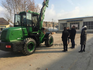 Mini Wheel Loader with Telescopic Boom Hy2500 pictures & photos