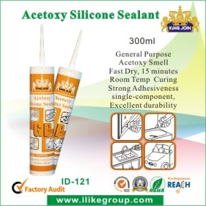 Fast Dry Acetoxy Silicone Sealant (kingjoin ID-121) pictures & photos