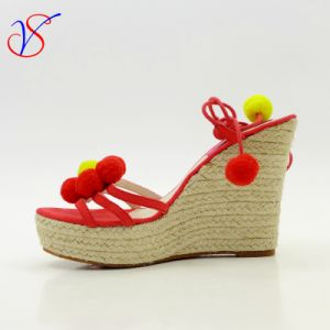 Sex Fashion High Heeled Women Lady Sandals Shoes for Socially Business Sv-Wf-021 pictures & photos