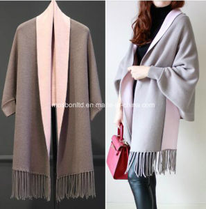 Woolen Sweater Designs/Scarf Coat for Ladies pictures & photos