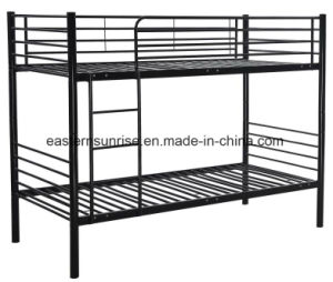School Camp Military Cheap Steel Frame Bunk Bed pictures & photos