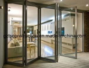Thermal Break Aluminum Alloy Door&Double Glazed Glass Energy Efficience/Decorative Aluminum Door (TS-045) pictures & photos