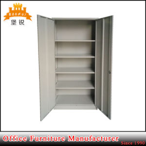Office Filing Cabinet/Metal Office Cupboard/File Cabinet with 4 Shelves pictures & photos