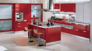 2016 Mobili Da Cucina New Design Furnitures Modern Armoires De Cuisine Customized Made High Gloss Lacquer Kitchen Professional OEM Manufacturer L1606082 pictures & photos