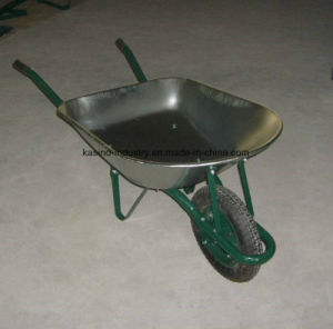 High Quality Galvanized 78L&5cbf Wheel Barrow/Wheelbarrow (wb7201) pictures & photos