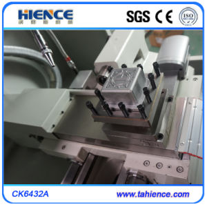 Low Price and High Quality Small Metal Cut CNC Turning Lathe Ck6432A pictures & photos