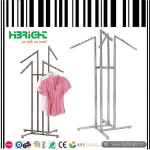 4-Way Garment Rack for Supermarket Promotion pictures & photos