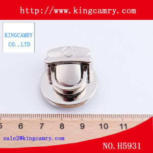 Luggage Press Lock/Bag Twist Lock /Zinc Alloy Clasp Lock / Handbag Lock pictures & photos