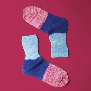 Women′s Double Neeldes Socks pictures & photos