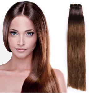 7A Grade 4 Bundles Cambodian Ombre Virgin Hair Bundles with Lace Closure Body Wave pictures & photos