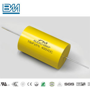 Axial Film Capacitor Interference Suppressor Capacitor for Impulse Circuit Round Type Cbb20