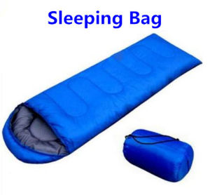 Outdoor Camping Envelope Inflatable Sleeping Bag pictures & photos