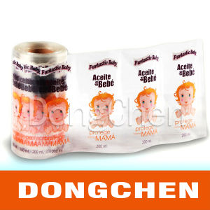 Fashion Cosmetic Perfume Transparent Adhesive Label Printing pictures & photos