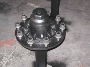 Small/Stud Axle/Agricaltural Axle/0.5-8tons/Unbraked Agricalture Axle pictures & photos
