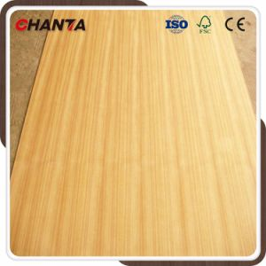 Ccqc Straight Line Flower AAA AA Grade Teak Plywood for Furniture pictures & photos