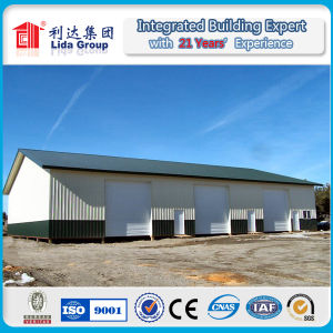 Light Steel Structure Galvanized Warehouse pictures & photos