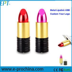 2017 Best Promotional Gift Metal Lipstick USB Pen Drive (EM096C) pictures & photos