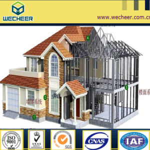 2017 Low Cost Steel Kit Home and Affordable Home Sheld with Corrugated Wall and Steel Frame pictures & photos