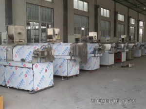 400-500kg/H Twin Screw Extruder/ Twin Screw Extruder for Pellet/Snack Food Extruder pictures & photos
