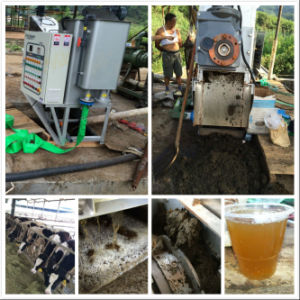 Biochemical Pharmacy Wastewater Treatment Volute Sludge Dewatering Machine pictures & photos