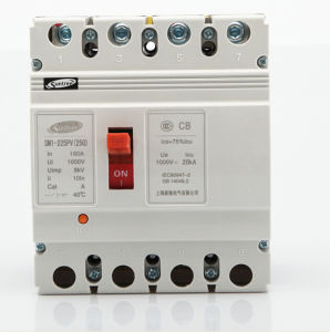 Sm1 Solar DC MCCB DC1000V 2p 3p 4p pictures & photos