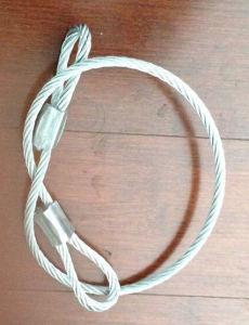 Cable Wire Rope, Wire Rope Sling, Lift Sling pictures & photos