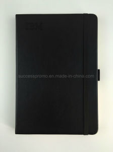 IBM Hard Cover Moleskine Notebook with PU Leather Cover pictures & photos