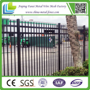 Residential Ornamental Iron Fence with Spear Top pictures & photos