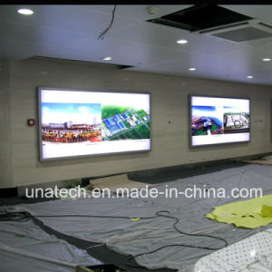 Flex Outdoor/Indoor Wall Mount Metro LED Backlit Film Banner Light Box Signage pictures & photos