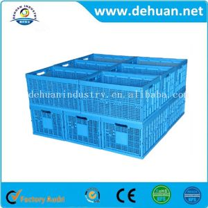 Plastic Foldable Hollow Turnover Box pictures & photos