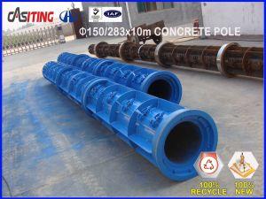 telecom concrete pole mold