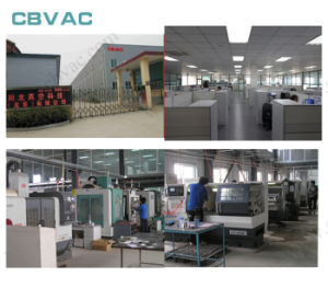 Cbvac Gate Valve with ISO Flange Is Large Stainless Steel pictures & photos