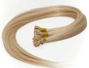 European Remy Hair Cold Fusion Prebonded Flat Tip Hair pictures & photos