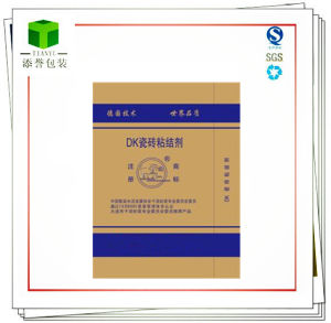 Kraft Paper Laminated PP Woven Bag for Chemicals/Binder Storage pictures & photos