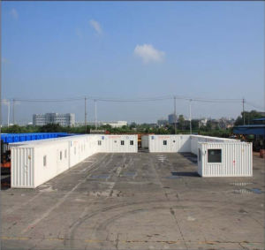 Quick Assemble Movable Folding Container Houses pictures & photos