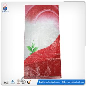 China 20kg 25kg PP Woven Tubular Bag for Livestock Feed pictures & photos