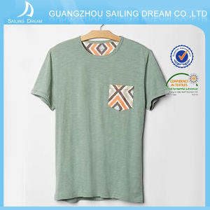 China Hot Sale Soft Organic Cotton T-Shirt for OEM