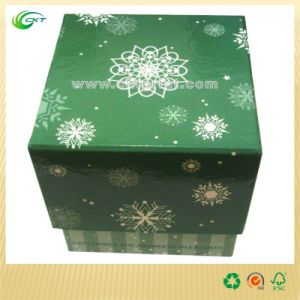 Square Cardboard Gift Box for Jewelry (CKT-CB-416)