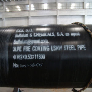 3lpe Fbe Saw Stainless Steel Pipe for Connecting Water Linepipe pictures & photos