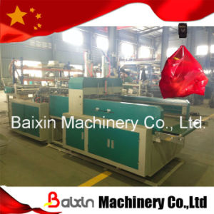 High Speed Plastic T-Shirt Bag Cutting Machine Baixin Brand pictures & photos