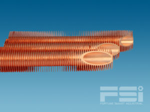 Medium Copper Finned Tube 812 pictures & photos
