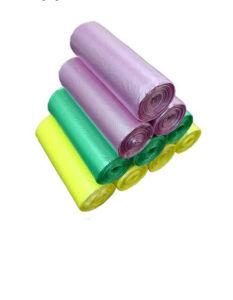 PE Trash Bag Disposable Garbage Bag Roll Plastic Bin Bag pictures & photos